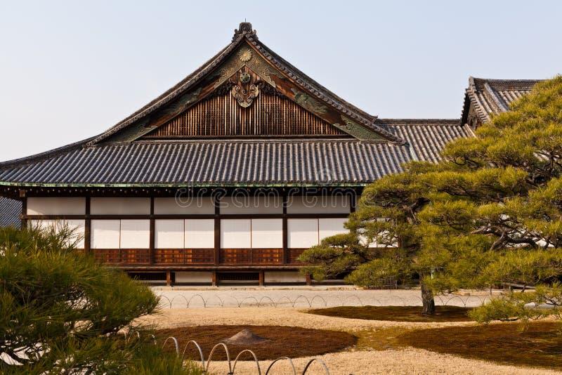 Honmaru palace, Nijo castle stock photography