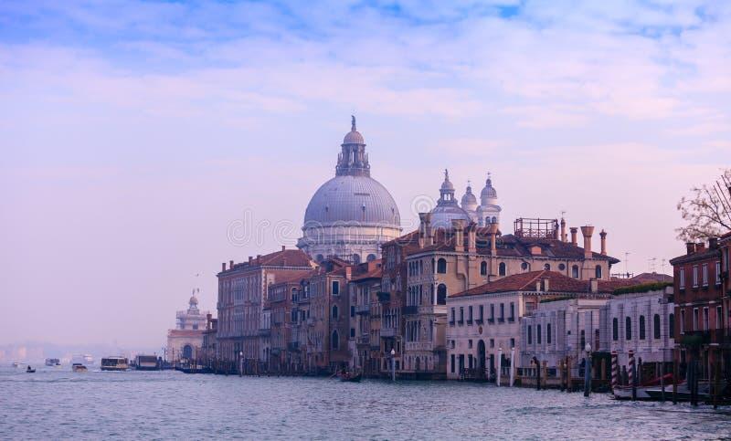 Honnör för BasilicaSanta Maria della, Venedig, Italien royaltyfri fotografi