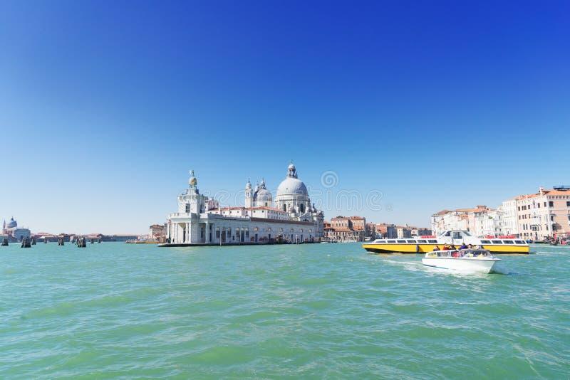 Honnör för BasilicaSanta Maria della, Venedig, Italien fotografering för bildbyråer