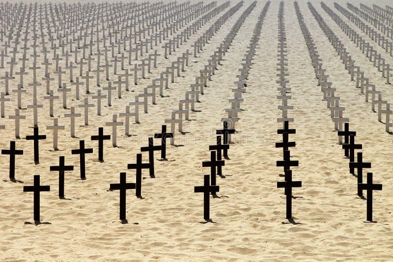 Honneur aux soldats morts image stock