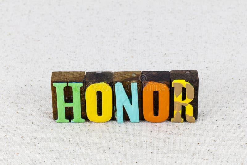 Honneur devoir amour militaire patriotisme courage pays respect photographie stock