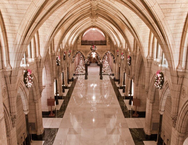 Honneur Hall de Noël photos libres de droits