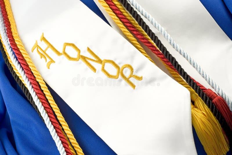 honneurs de graduation photo stock