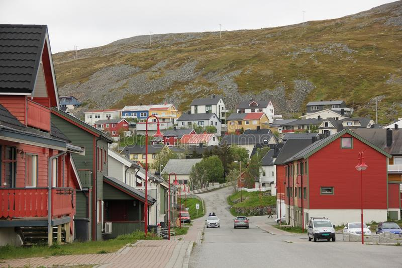 Honningsvag photographie stock