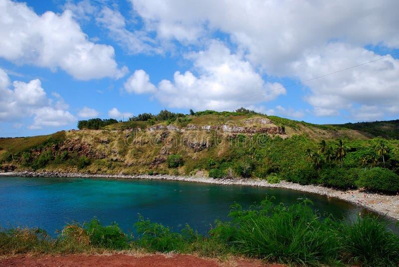 Honolua zatoka w Maui fotografia royalty free