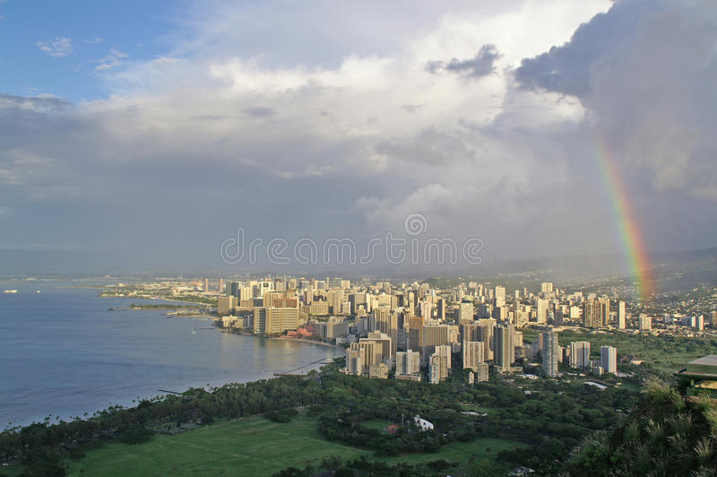 Download Honolulu stock photo. Image of clouds, volcanic, diamondhead - 11366332