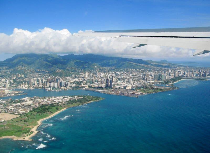 Honolulu stock afbeelding