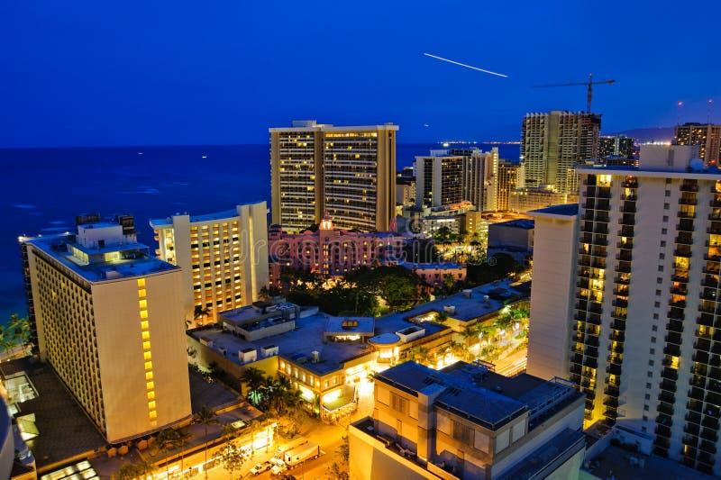 Honolulu du centre photos stock