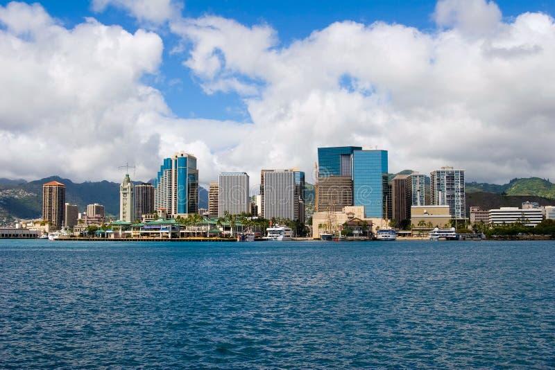 Honolulu du centre 2 photo libre de droits