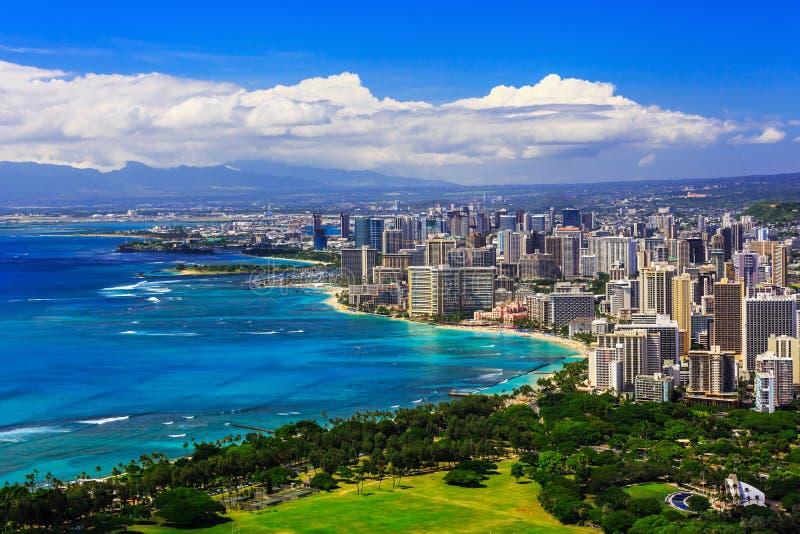 Honolulu, Havaí fotos de stock