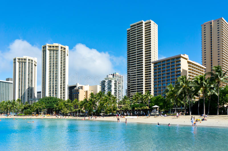 Honolulu, Hawaï, Verenigde Staten stock foto