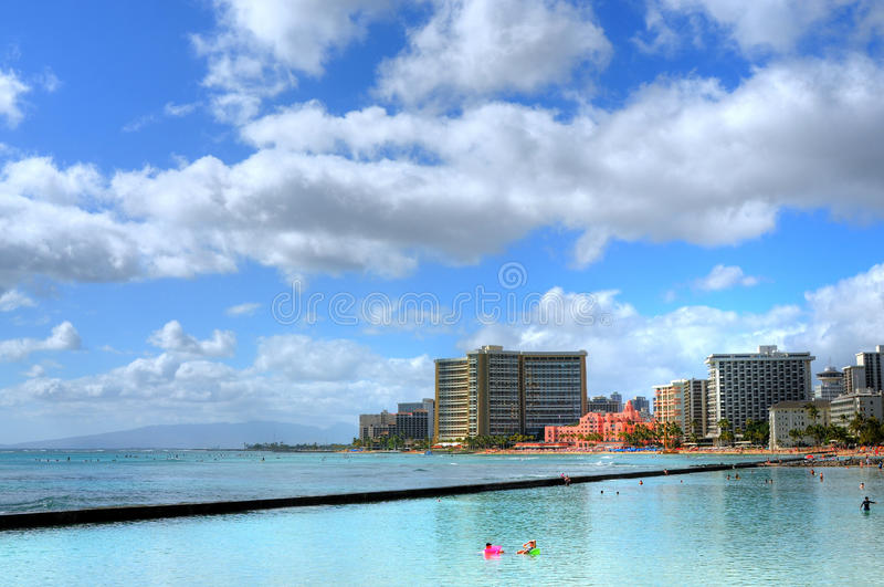 Honolulu Hawaii royalty free stock image