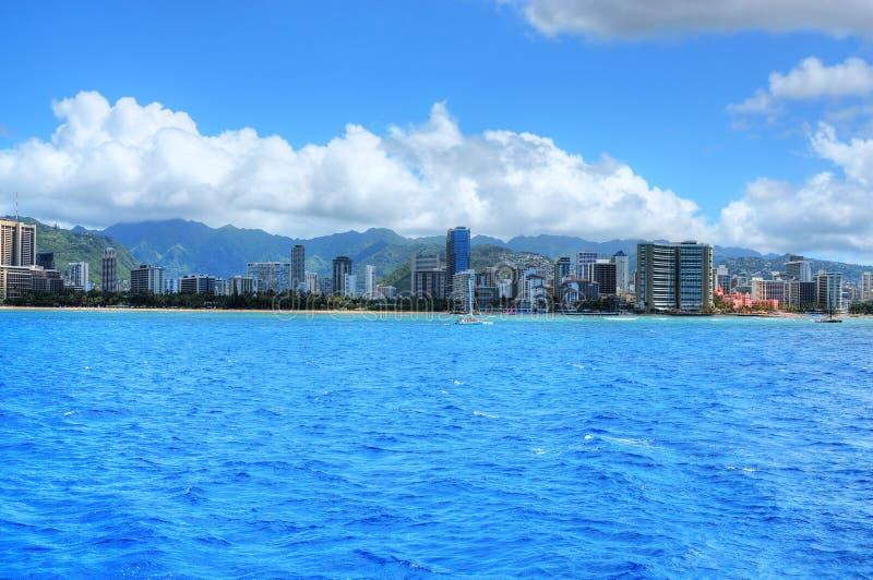 Honolulu Hawaii stock images