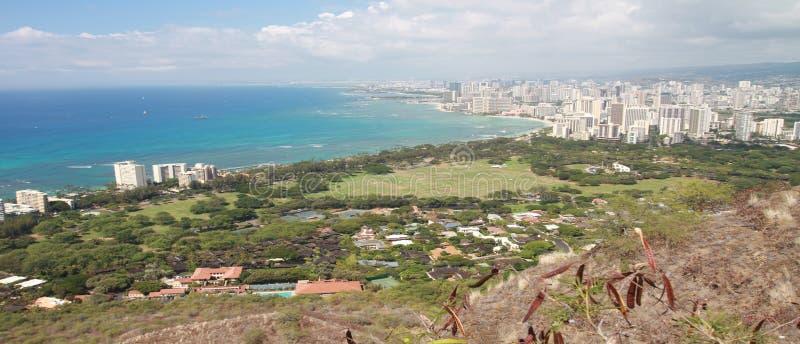 Honolulu in Hawaii stock photo