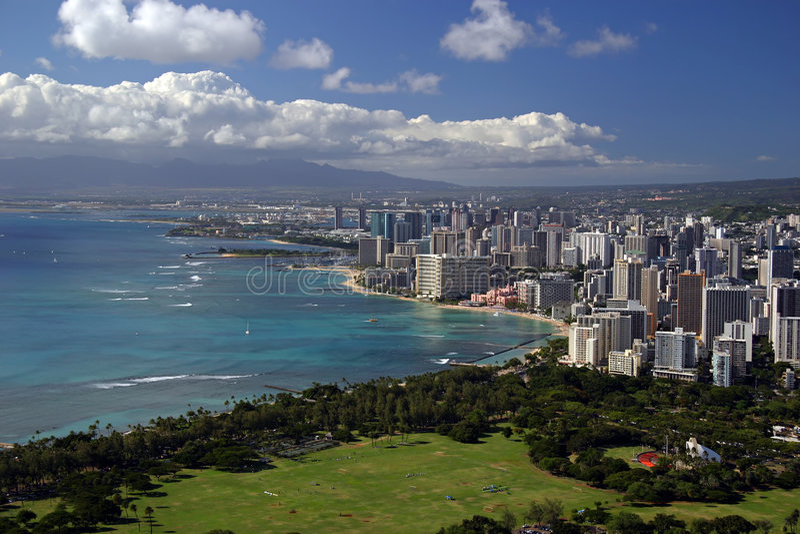 Download Honolulu, Hawaii stock image. Image of shore, hawaii, honolulu - 463107