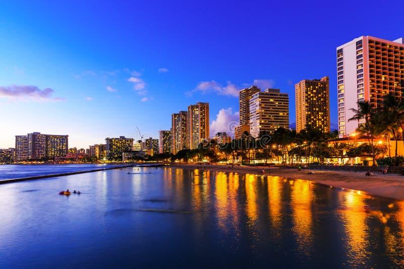 Honolulu, Hawaii lizenzfreies stockbild