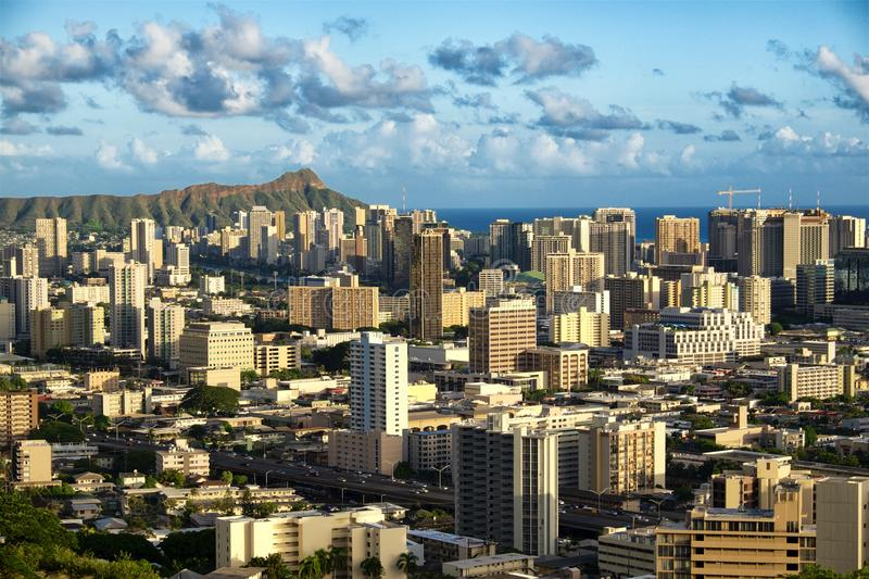 Honolulu Hawaii stockbild