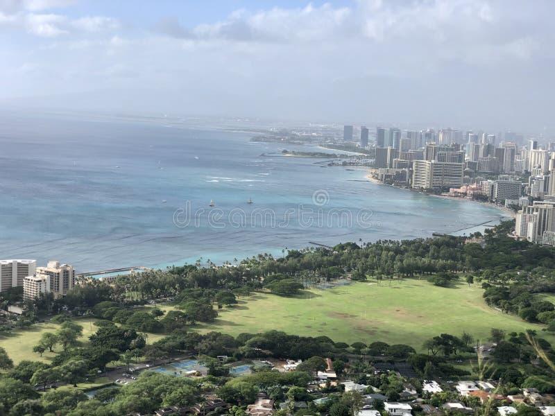 Honolulu Hawaii beauty road trip ocean scenic stock images
