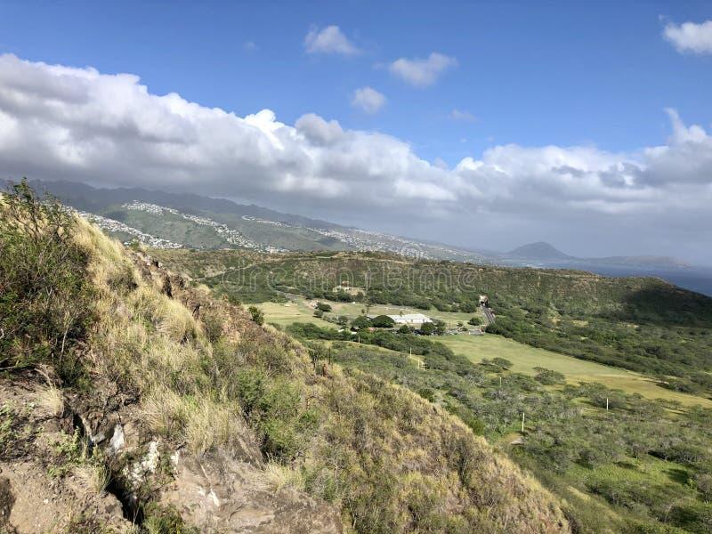 Honolulu Hawaii beauty road trip ocean scenic royalty free stock images