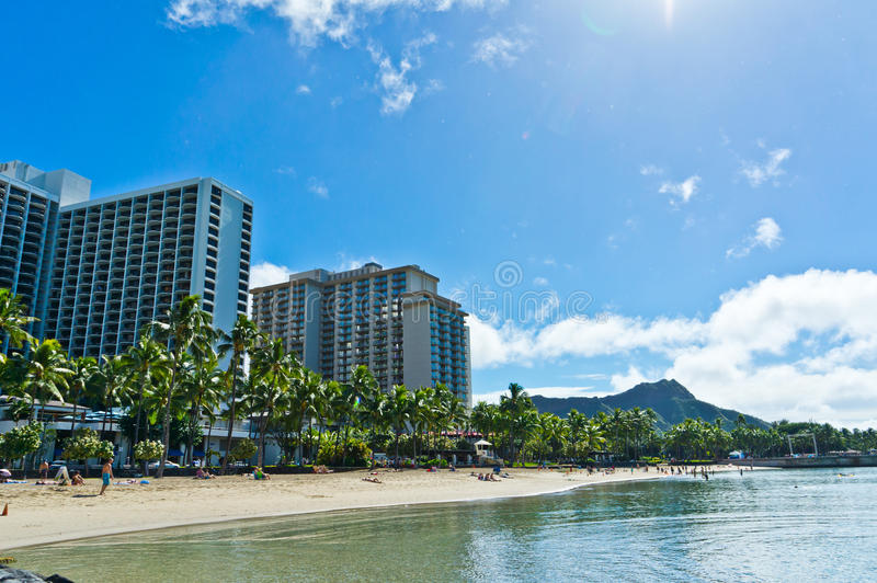 Honolulu, Hawaii, Vereinigte Staaten stockfotos