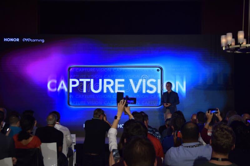 HONOR annuncia l'app PocketVision fotografia stock