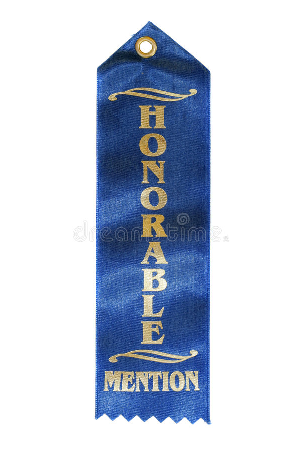 Free Honorable Mention Ribbon Royalty Free Stock Photo - 2493935