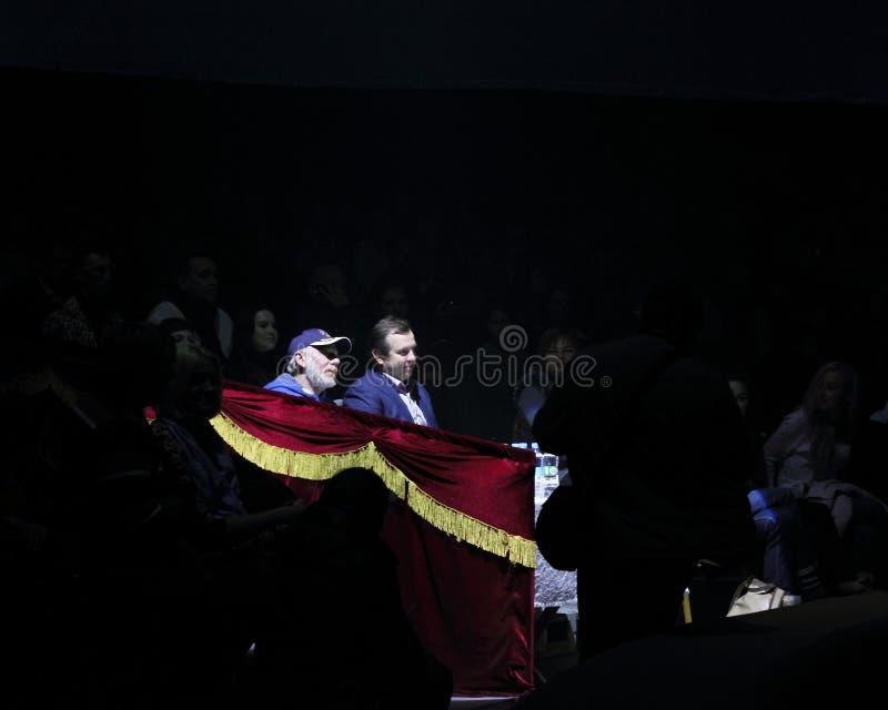Honorowa ława przysięgłych III dzieci ` s festiwalu ` cyrkowe gwiazdy Przyszłościowy ` obraz royalty free