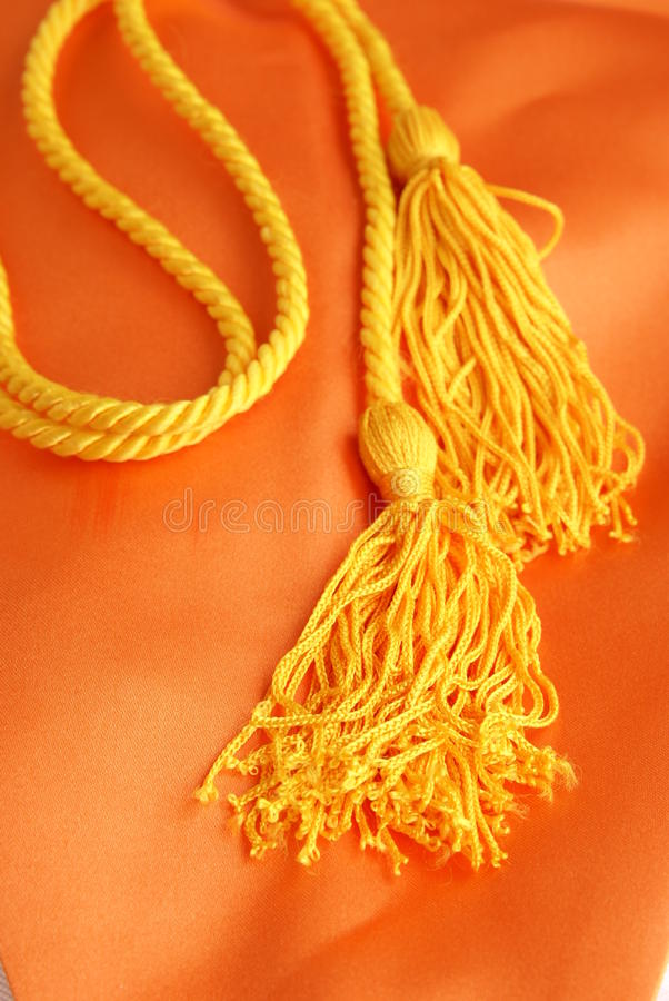 Download Honors Graduation Cord stock image. Image of black, gold - 9673315