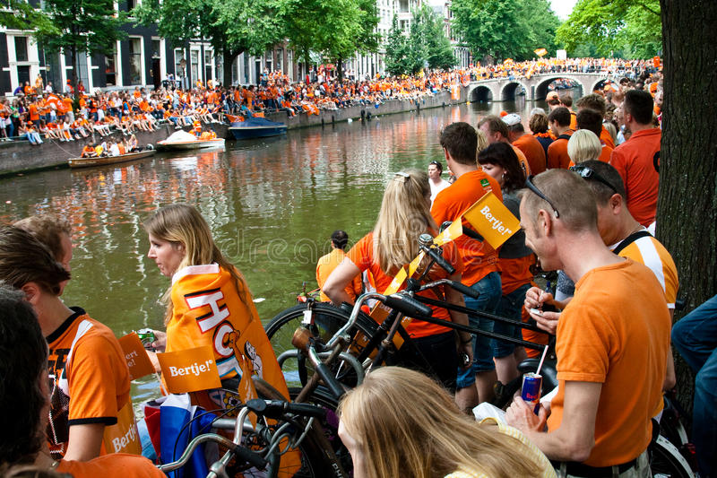 Download Honouring Of The Dutch Soccer Team Editorial Photography - Image: 15185112
