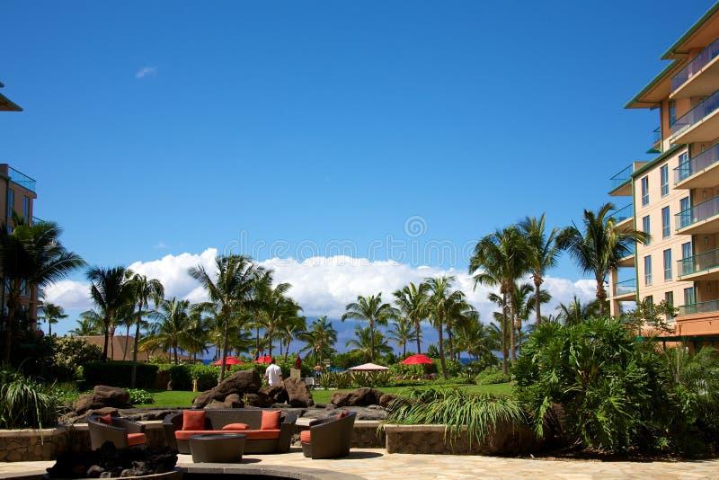 Honua Kai Resort och Spa royaltyfri bild