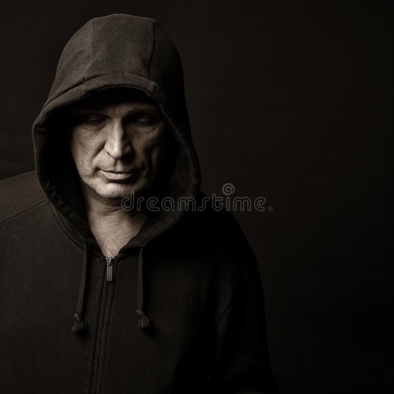 Download Hood stock image. Image of black, portrait, magician - 26196515