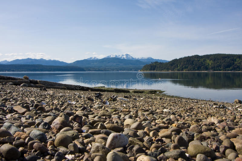 Download Hood Canal Washington With Olympic Mountains Stock Image - Image of recreation, fish: 10786809