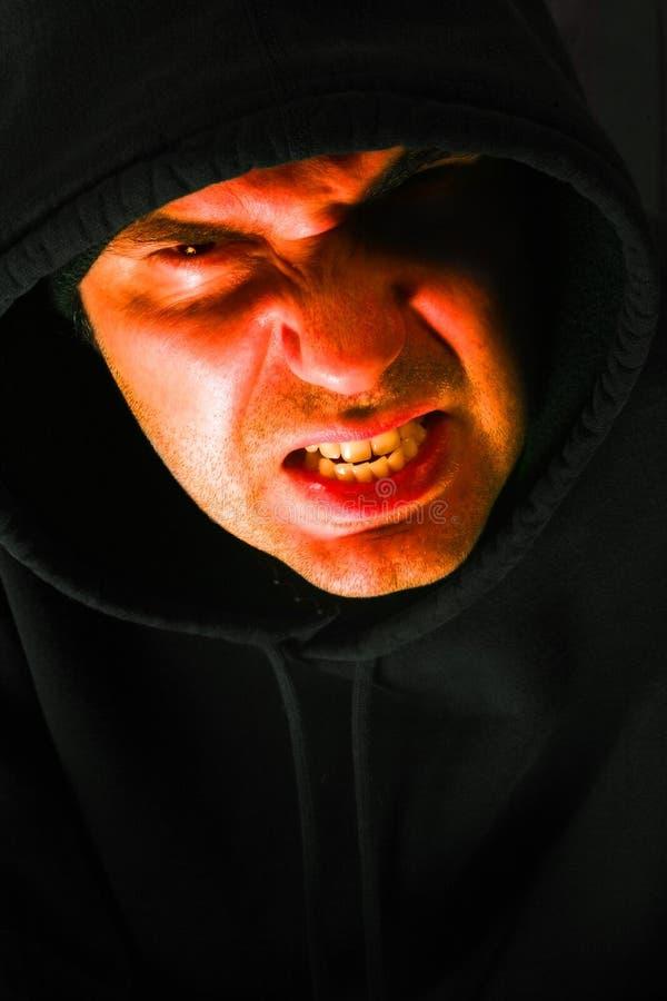 Hooded anger