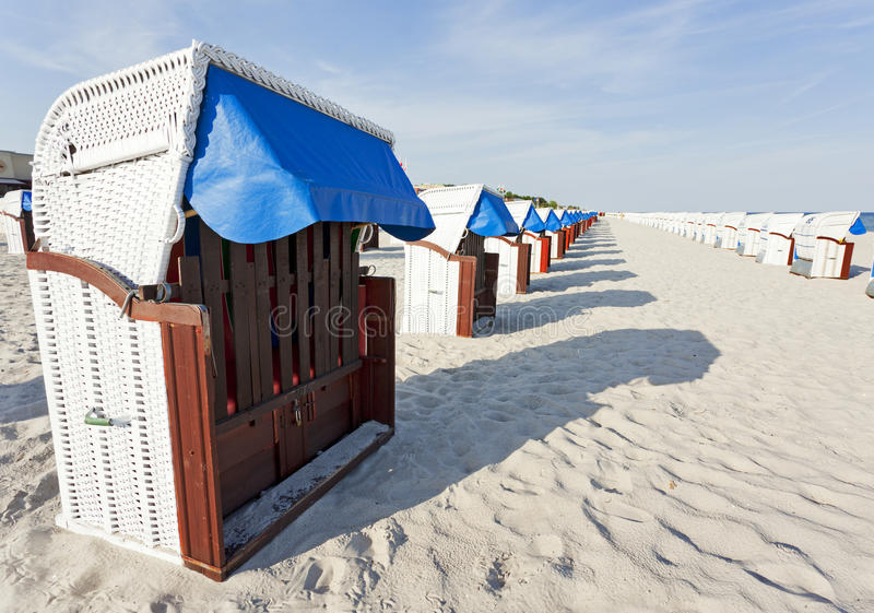 Download Hooded Beach Chairs At The Baltic Sea Stock Image - Image: 19700303
