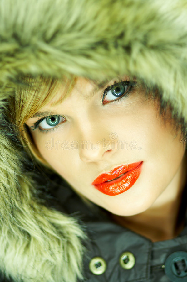 Download Hooded jacket stock image. Image of babe, colors, hair - 1510331