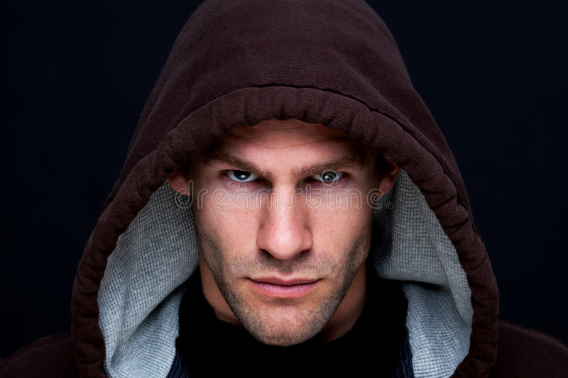 Download Hooded Man Royalty Free Stock Photos - Image: 9241498