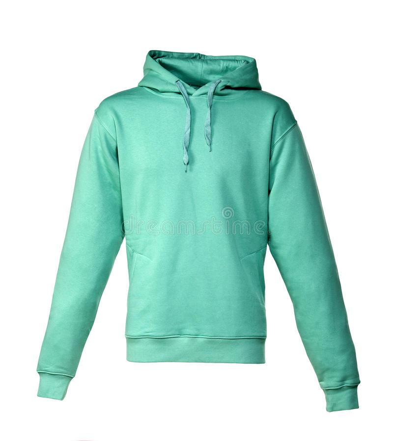 Download Hooded Sweater stock photo. Image of green, fashion, clothing - 15362394
