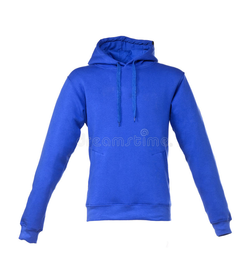 Download Hooded Sweater stock image. Image of hooded, blue, shirt - 15362451