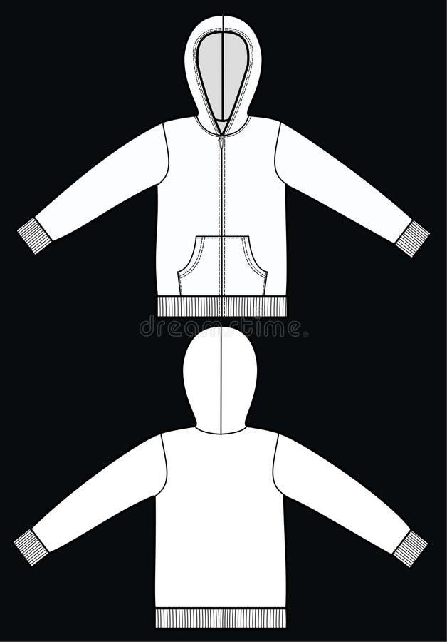 hoodie royalty ilustracja