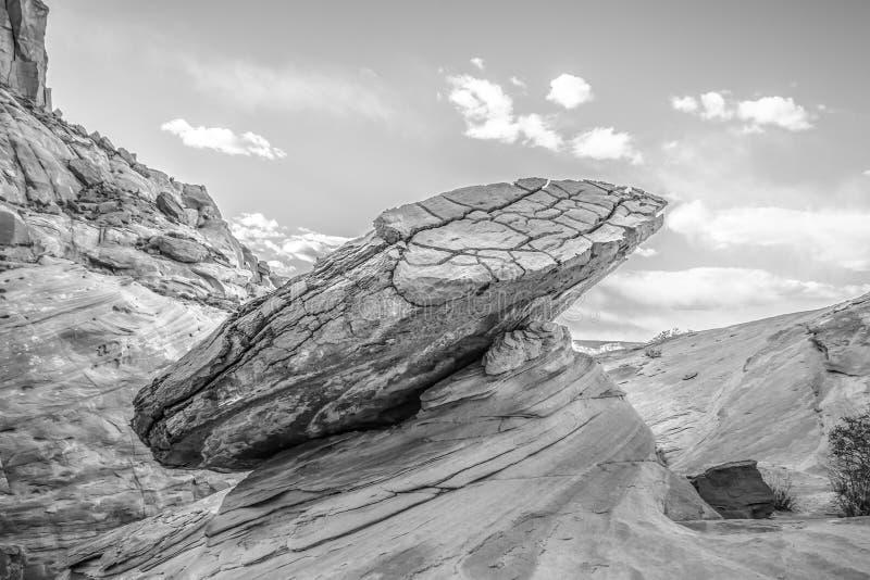 Hoodoo στη σελίδα AZ κοντά στη λίμνη Powell στοκ φωτογραφίες
