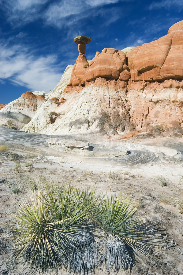 Hoodoo Rock Formation royalty free stock images