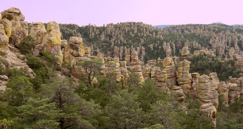 Hoodoos - Chiricahua National Monument, Arizona, U stock photos