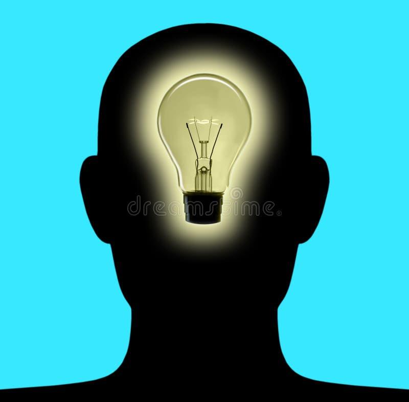 Hoofd Lamp 2 stock illustratie