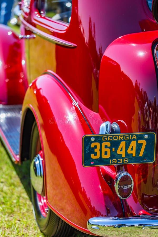 1936 Hoofd Luxe van Chevrolet royalty-vrije stock afbeeldingen
