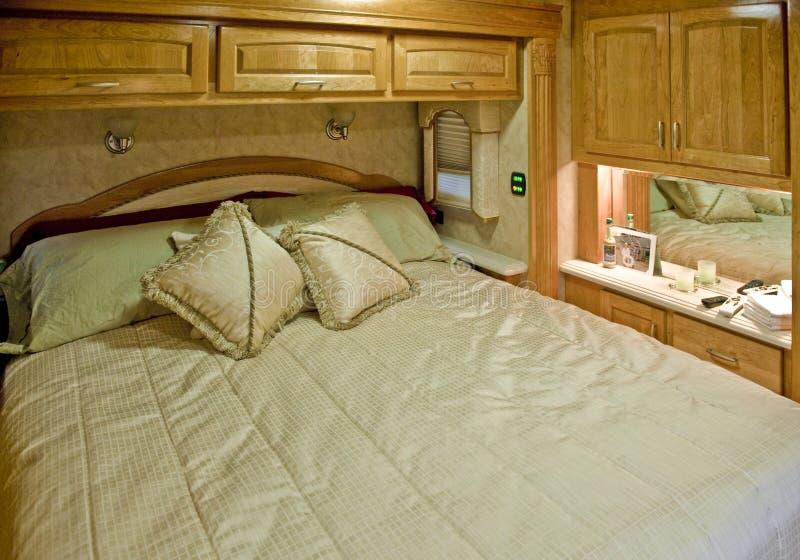 Hoofd slaapkamer royalty-vrije stock afbeelding