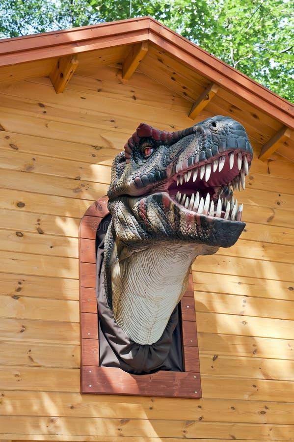 Hoofd t-Rex stock afbeelding