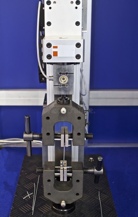 Hoofd van de het testen machine royalty-vrije stock fotografie