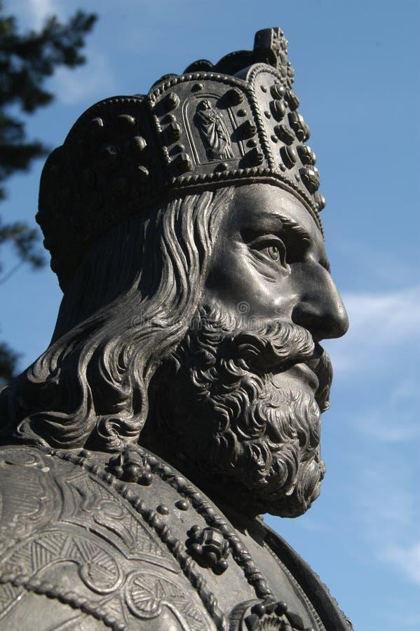 Hoofd van een standbeeld royalty-vrije stock fotografie
