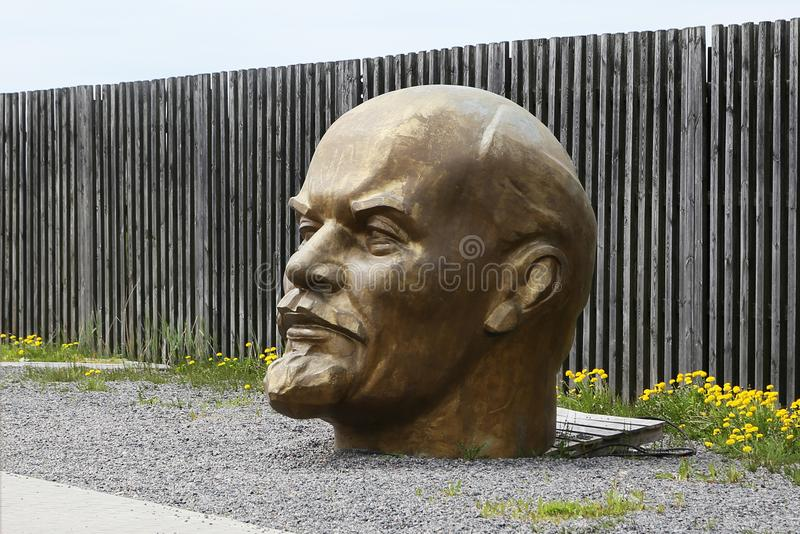Hoofd van Lenin royalty-vrije stock foto