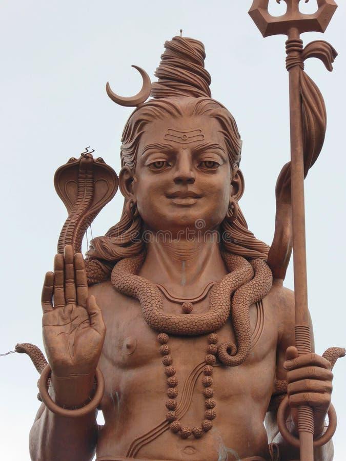Hoofd van Shiva royalty-vrije stock afbeelding